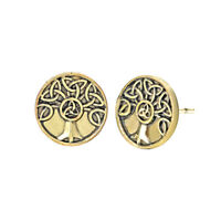 Family Tree of Life Earring Peace Knot Slavic Viking Brand Jewelry Accessories