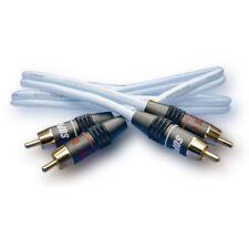 Supra Cables Rca / Cinch Cable Dual 2 Rca - 2 Rca with Rca 6 Plug (0,5 M) Neu