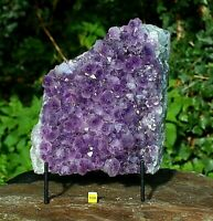 Amethyst Quartz Crystal Cluster Geode - Large Natural Raw Mineral Healing 3204g