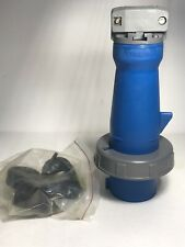 Hubbell 363P6W Pin And Sleeve Watertight Plug 63A 220V2 Pole 3 Wire Grounding