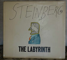 THE LABYRINTH: DRAWINGS by SAUL STEINBERG (1960 hardcover) 1st EDITION - SCARCE