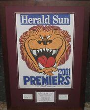 Brisbane 2001, 2002, 2003 Weg Tribute's *Signed*