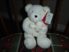 Russ White Teddy Bear Holding Cross Embroidered Faith