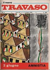 IL NUOVO TRAVASO delle idee N.6 1966 trav-edit DINO VERDE