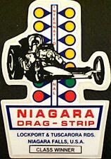 Niagara Drag Strip Class Win Vintage Reproduction Hot Rod & Drag Racing Decals