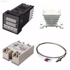 Digital 220V AC PID REX-C100 Temperature Controller Max.40A SSR K Thermocouple
