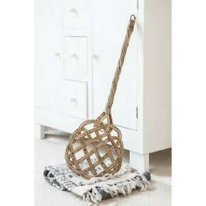 Garden Trading Rattan Rug Beater Carpet Essential Traditional Hand Crafted 75cm