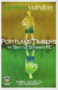 Portland Timbers 'Green & White' MLS Soccer/Football Program Volume 7, Issue 12