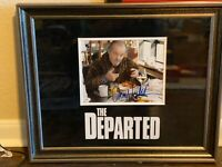Jack Nicholson Signed Autographed Photo THE DEPARTED Custom Mat Jsa