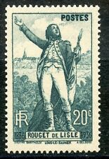 STAMP / TIMBRE FRANCE N° 314 ** ROUGET DE L'ISLE