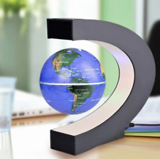 Blue Levitation Anti Gravity Globe Magnetic Floating Globe