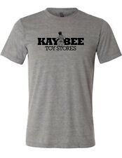 80s toys Kay Bee Toy Store character Classic kid games gray XS-4XL T-shirt Top