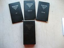Un-Used Webster Professional Edition Atlas, diary, address book in slip case