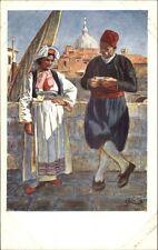 Ragusa Croatia Native Women Costumes de Canali c1910 Postcard