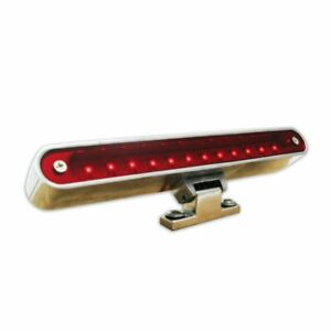 1955 - 1957 Chevy Bel Air Billet LED 3rd Brake Light with Turn Signal Tail Stop