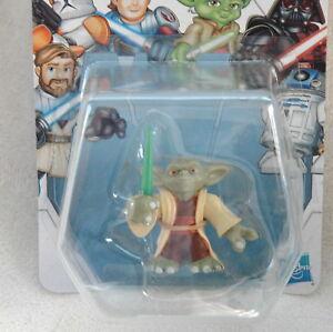 Star Wars JEDI FORCE YODA Playskool Heroes Figure *NEW*