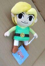 Geuine Japan Sanei ZELDA The Wind Waker HD Link Plush Doll 19cm S size