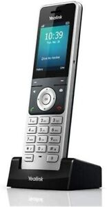 Yealink W56H Dect Cordless 2.4' 240 X 320 Color screen Handset - Silver