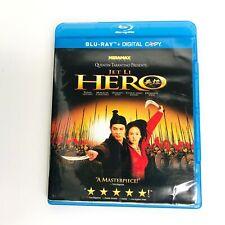 Jet Li Hero Dvd Blue Ray Leung Cheung Ziyi Ming Yen *Read* No Digital Copy Code