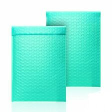 2 85x12 Usable Space 85 X 11 Poly Bubble Teal Mailer Padded Envelopes