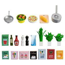 Lundby 60.5089.00 - Küchenzubehör Minipuppen mit Zubehör