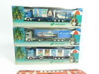 BD428-0, 5 #3x Albedo H0 / 1:87 Truck/Lorry Volvo Ltu / Jahn Travel, Mint +Box