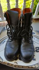 Vintage Men's Harley Davidson Motor Cycle Boots Size 8.5 M.EUC