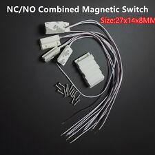 5x NC NO Magnetic Sensor Switch Normally Open Closed Door Contact Alarm Window