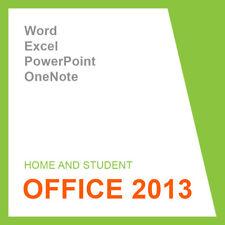 Microsoft Office 2013 Home and Student-codice prodotto-KEY - 32/64 BIT ESD
