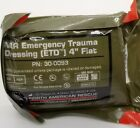 "Внешний вид - NAR ETD 4"" Emergency Trauma Dressing FLAT Expires 05/2023 30-0093"