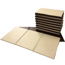 New 5x  00004000 Folding Nursery Sleep Mats Chocolate / Buttermilk for Children & Toddlers