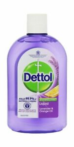 Disinfectant Dettol Liquid Lavender and Orange 500 ml Anti-Bacterial new sealed