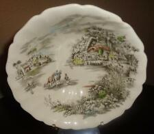 "JOHNSON BROTHERS SERVING BOWL ""Happy England Pattern, Under Glaze Engraving"""