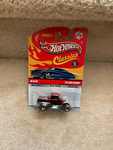 Hot Wheels Classics Series 5 #18 Red '29 Ford Pickup