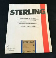 "Sterling Professional B&W Paper 8x10"" Premium Glossy 4 Pack"