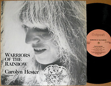 CAROLYN HESTER Warriors Of The Rainbow '86 rare LP Outpost Records OR-050586