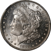 1879-O Morgan Silver Dollar NGC MS60 Blast White Nice Eye Appeal Nice Strike