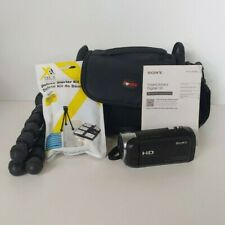New ListingSony Handycam Hdr-Cx405 Camcorder with Accessories and Case