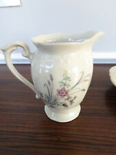 Vintage P T Tulowice China Creamer/Pitcher Floral Pattern Made in Poland MINT