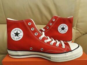 Converse Chuck 70s Hi Men's Size 9 Sneakers Enamel Red/Egret/Black (NEW)