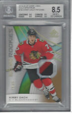 KIRBY DACH 2019-20 SP GAME USED HOCKEY PATCH GOLD SPECTRUM 59/65 #195 BGS 9