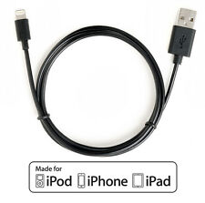 [Apple MFI Certified] CreatePros Lightning to USB Cable - Black (1m/3.3ft)