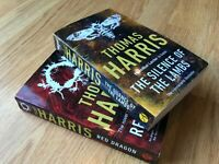 2 PAPERBACK BOOKS BY THOMAS HARRIS IN VGC THRILLERS FOR £5.80 INCL P&P LECTER