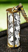 Stunning Gold Filled Hourglass Pendant with AAA Cubic Zirconia Crystals JB-053