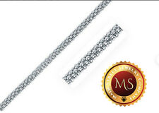 ITALY 925 SOLID Sterling Silver 2.5mm Popcorn Chain Necklace 16/'/' Through 30/'/'