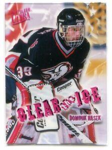 1996-97 Ultra Clear the Ice 3 Dominik Hasek