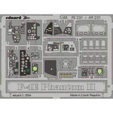 Eduard Photoetch Zoom 1:48 - F-4e Hasegawa Kit - 148 F4e Edpfe231 Colour