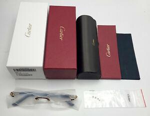 NEW! Cartier Glasses Canazei CT0048O Sunglasses