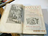 BIBLIA SACRA VULGATAE EDITIONIS - VENETIIS MDCCLVII REMONDINIANA