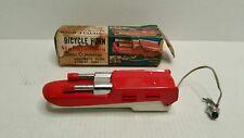 Rare Vintage 1950's Daido Automatic Machine Gun Bicycle Horn Red 903 Japan